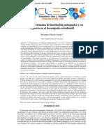Estrategias Virtuales de Mediación Pedagógica y Su Impacto en El Desempeño Estudiantil