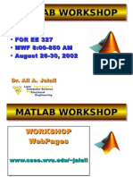 MATLAB Workshop Lecture 3