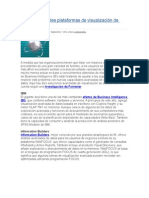 Las 10 Principales Plataformas de Visualización de Datos