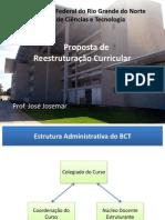 Nova estrutura Curricular - CeT (UFRN)