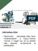 taxonomia de los tipos de mantenimiento y conservacion industrial