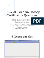 CCD-410 Cloudera Hadoop Certification Questions (1)