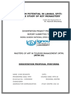 Dissertation on tourism