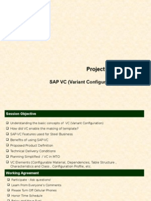 142157641-Variant-Configuration ppt   Technology   Engineering