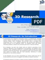 3D Company Profile