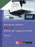 Manual de Cambios Logistica en Web