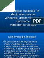 Clinica Sindroamelor Neurovertebrogene