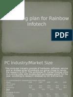 Marketing Plan for Rainbow Infotech