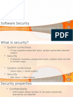 Secure Software Engineering - Introd. Software Security