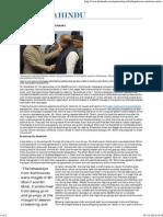 Anatomy of a Diplomatic Handshake - The Hindu