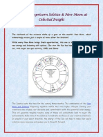 View Astrology Forecast and Chart for the Capricorn Solstice & New Moon by Celestial Insight