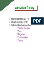 20 Aberration Theory