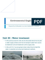 Environmental Engineering-1 Unit 3