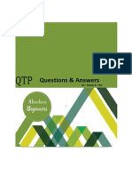 QTP Interview question and answers