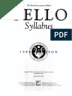 Cello Syllabus IBmusic