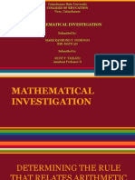 arithmetic operation in four consecutive even and odd integers