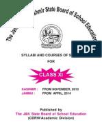 Syllabus 11th Class 2015
