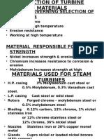 turbine Constructional
