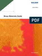 Braze Material Guide 082013
