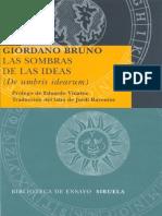 Las Sombras de Las Ideas-Giordano Bruno