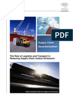 Supply Chain Decarbonization (WEF)