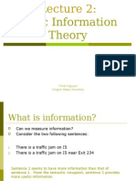 Information Theory 1