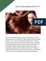 Ayurvedic Remedies Can Heal Balding and Hair Fall
