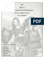 Understand the growth of Shoppers Stop