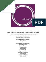 Documento Político-Organizativo Podemos Motril