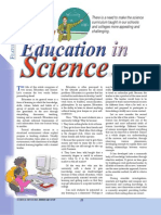 Education in Science