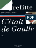 C'etait De Gaulle - Tome I - Alain Peyrefitte.epub