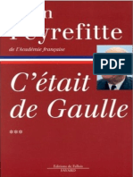 C'etait de Gaulle, tome 3 - Alain Peyrefitte.epub