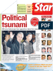The Star Malaysia Cover (9 March 2008)