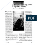 FMRLC Fuzzy Model Reference Learning Control for Cargo Ship Steering.