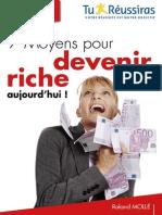 7 Moyens Pour Devenir Riche