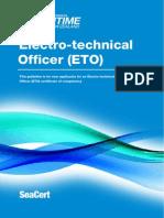 Electro Technical Officer ETO Guideline