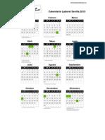 Calendario laboral sevilla 2015