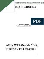 Modul 3 Statistika Internal Distribusi Frekuensi