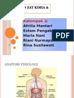 Presentasi Keracunan Zat Kimia & Makanan