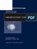 Neuro Ophthalmology an Issue of Neurologic Clinics the Clinics Internal Medicine