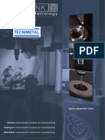 Máquinas de medicion por coordenadas Aberlink Product Brochure