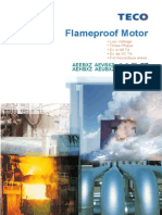 Flameproof Motor From TECO