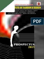 Aifd Prospectus 2015