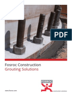 Fosroc Grouting Brochure