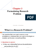 Chap.3 Research Problem