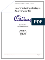 Cadbury Marketingstretegy