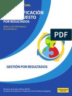 Gua Conceptual Gestin Por Resultados GpR (1)