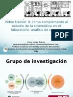Presentación Video tracker ® como complemento al estudio de la cinemática en el laboratorio