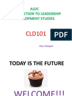 Cld101 Introduction to Leadership Development Studies