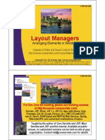 10 Layout Managers